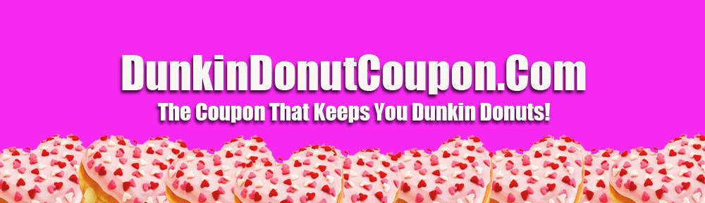Dunkin Donut Coupon